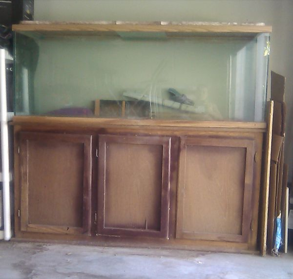 100 gal. Reptile/fish tank and stand