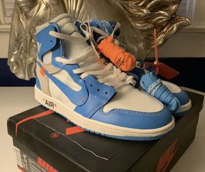 Off white unc Jordan 1 for Sale in Burtonsville, MD