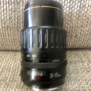 CANON ZOOM LENS EF 35-135mm 1:4 - 5.6 ULTRASONIC Lens QTM SKYLIGHT Japan for Sale in Fresno, CA