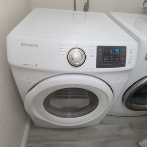 Samsung Dryer Electric, Steam Sensor, Great Working Condition, Included Shoe Rack for Sale in Walnut, CA