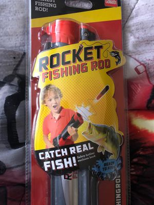 Rocket Fishing Rod ͏b͏y Goliath for Sale in Glenview, IL