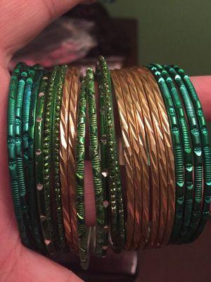 Green bangels for Sale in Hyattsville, MD