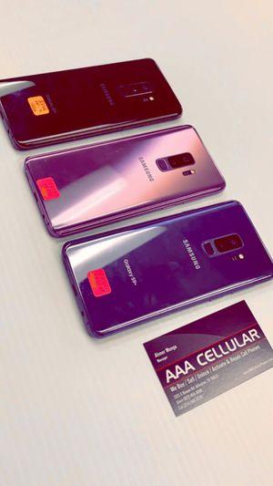 Samsung Galaxy S9+ 64GB Factory Unlocked / ATT T-Mobile Verizon Sprint Starting @ for Sale in Arlington, TX