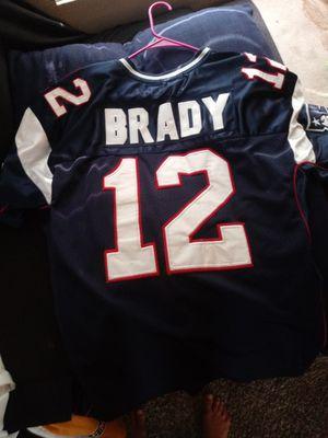 Patriots jersey. #12 Brady. for Sale in San Diego, CA