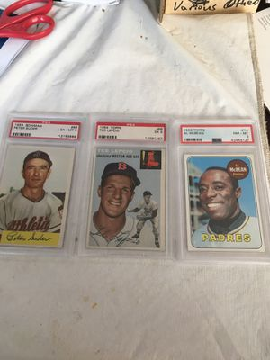 Graded Baseball cards for Sale in Peachtree Corners, GA