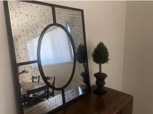 Statement mirror - oiled bronze, solid for Sale in Cypress, CA