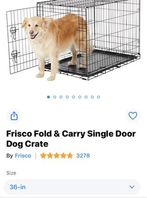 36 inch medium dog crate for Sale in Myerstown, PA