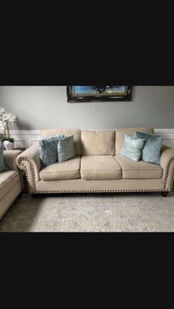 2 Ivory couches for Sale in Nashville,  TN