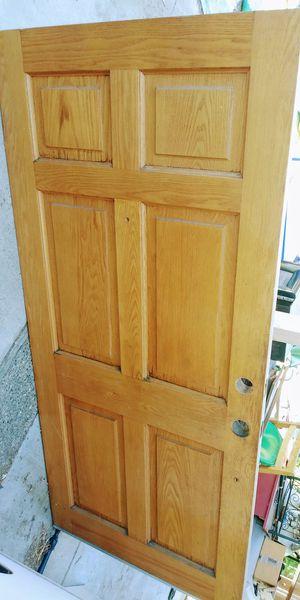 Wood Front Door for Sale in Modesto, CA