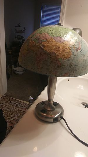 globe lamp for Sale in Springdale, AR