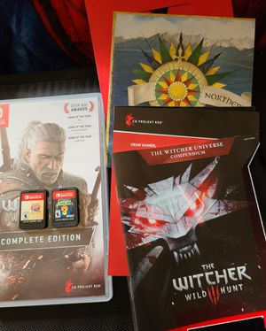 Switch games (Witcher 3, Mario all stars, Luigi mansion 3) for Sale in Tacoma, WA