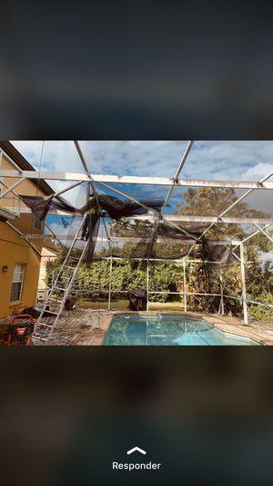 Paneles de screen de piscina for Sale in Orlando, FL