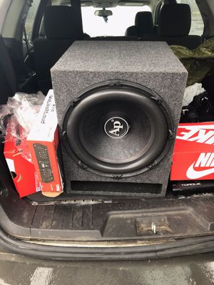 Audio pipe brand new still have the box speaker never been used for Sale in Detroit, MI