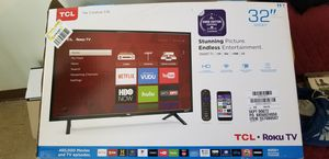 2018 Model TCL Roku Smart TV new took out of box to show that it worked for Sale in Cleveland, OH