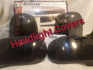 Ford Explorer 1995 to 2001 Mercury Mountaineer 1997 New Lund Headlight Covers Smoke 95 01 97 Pickup Truck SUV Lights New in the box for Sale in Newell, NC