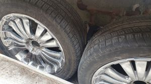 20 inch tires and chrome rims for Sale in The Bronx, NY