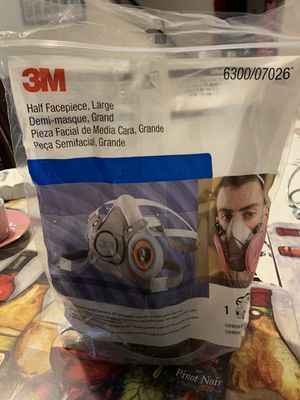 3m paint mask body shop paint for Sale in New Rochelle, NY