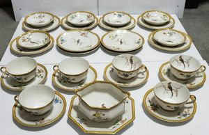 Theodore Haviland Eden set of 29 Tea Cups Saucers Dishes China for Sale in Corona, CA