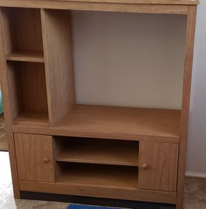 Light Brown Shelf Unit for Sale in Gulfport, MS