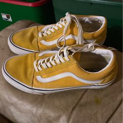 yellow vans size 9 for Sale in Hanford,  CA