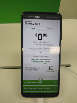 Samsung A11 for Sale in Joliet, IL