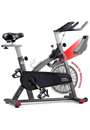 MEVEM Indoor Cycling Bike-Belt Drive Indoor Magnetic Exercise Bike,Stationary Cycle Bike for Home Cardio Gym Workout for Sale in Rancho Cucamonga, CA