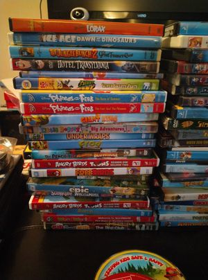 Lot of 65 Children's DVDs for Sale in Virginia Beach, VA