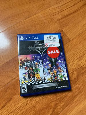 Kingdom Hearts 1.5 + 2.5 Remix PS4 for Sale in Pomona, CA