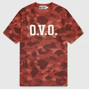 ovo Bape Red Camo Shirt for Sale in Portland, OR