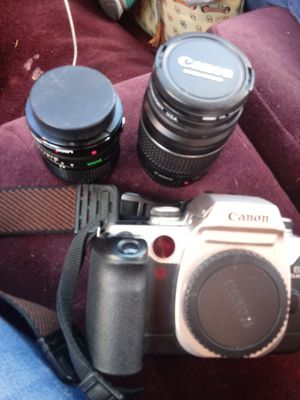 Canon camera 2 lenses for Sale in Kearns, UT