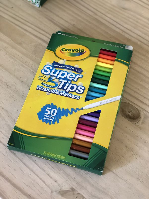 Crayola 50ct. Washable Markers