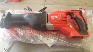 Milwaukee saw zall m18 just tool for Sale in Wasco, CA