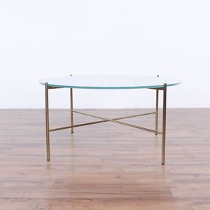 Article Silicus Mid-Century Modern Glass Top Coffee Table (1034922) for Sale in San Bruno, CA