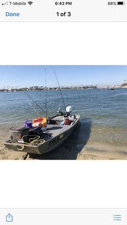 2015. 12ft tracker Jon aluminum boat for Sale in Long Beach,  CA
