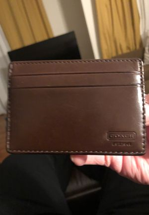 Coach money clip for Sale in Northbrook, IL