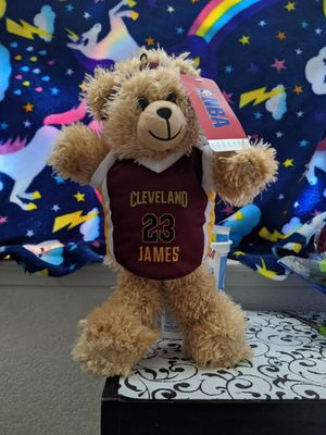 NBA Teddy Bear for Sale in Sacramento, CA
