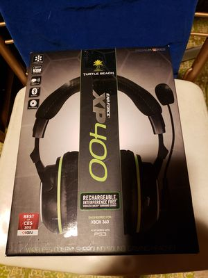 TURTLE BEACH CORDLESS HEADSET FOR X-BOX OR PLAYSTATION for Sale in Everett, WA