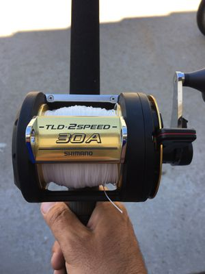 Shimano TLD30 2spd with fenwick offshore rod for Sale in Lake Forest, CA