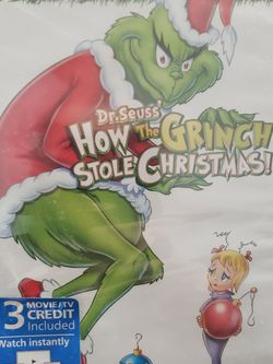 How The Grinch Stole Christmas Dvd for Sale in Dundalk,  MD