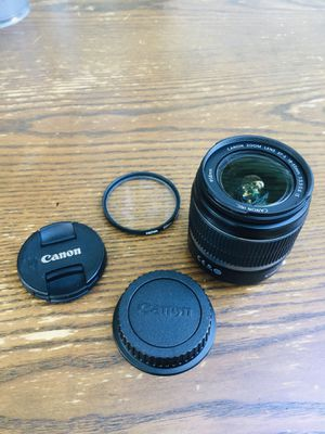 Canon Camera lens efs 18-55mm for Sale in Schaumburg, IL