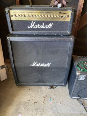 Marshall MG100HDFX Half stack for Sale in Upland, CA