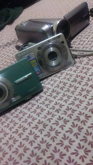 Digital cameras Sony and kodak// panasonic videoca/ for Sale in Tolleson, AZ