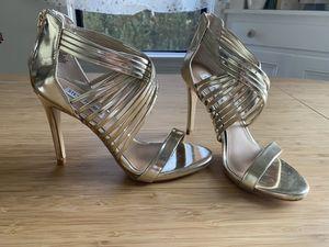 Like new gold Steve Madden heels for Sale in Pasadena, CA
