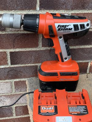 Black and decker firestorm 24v hammer drill for Sale in Washington, PA