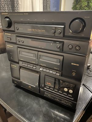 Pioneer stereo file type cd cassette deck receiver xr-2000 for Sale in Sheridan, OR