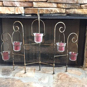 Fireplace Decor Candle Holder for Sale in Canton, GA