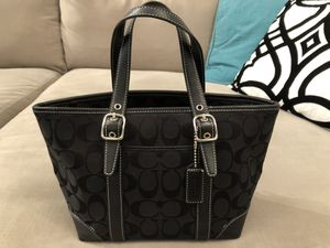 Signature Coach tote (Black) for Sale in Pittsburgh, PA