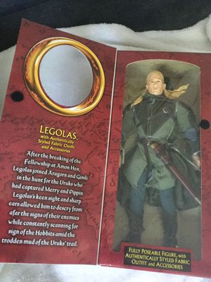 The lord of the rings the two towers action figure Legolas authentic special edition collector series brand new for Sale in Bellflower, CA