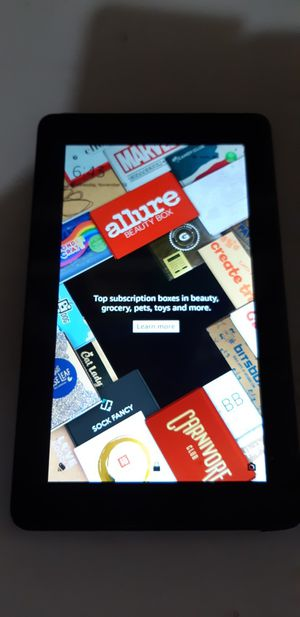 Amazon kindle Fire 7 5th Generation 7 inch screen for Sale in Tupelo, MS