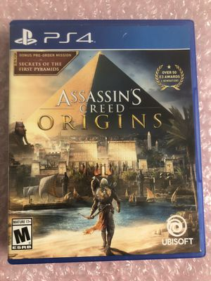 Assassins creed origins ps4 for Sale in South Bend, IN